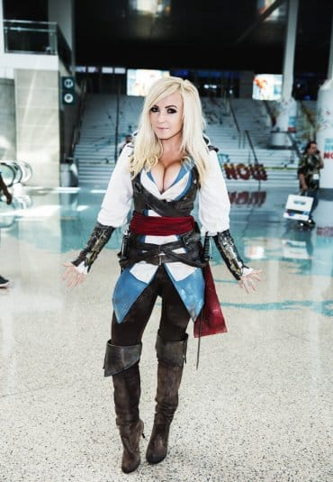 Assassin's Creed Cosplay Jessica Nigri #11