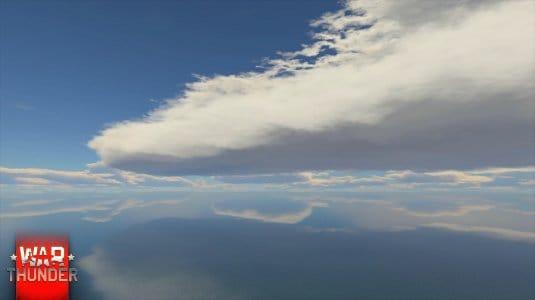 Обновленное небо в War Thunder. Скриншот 1