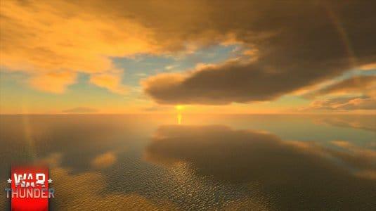Обновленное небо в War Thunder. Скриншот 6