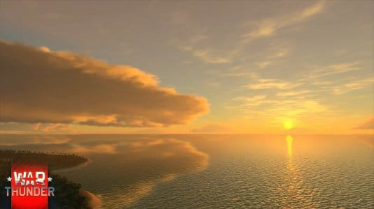 Обновленное небо в War Thunder. Скриншот 7
