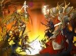 Битва между богами в мульт-стиле
