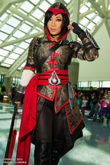 Косплей Assassins Creed №13. Comikaze 2014. Yaya Han
