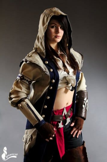 Косплей Assassins Creed №14. Connor Kenway