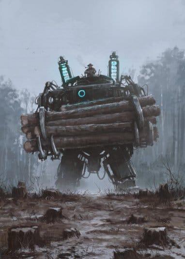 Якуб Розальски. Вселенная 1920+. Роботы это не только смертоносное оружие