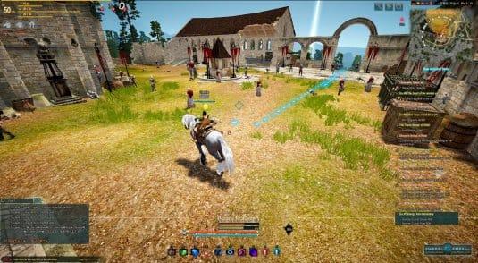 Фарм на мобах в Кровавом монастыре