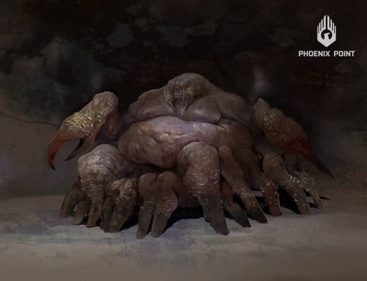 Эскиз монстра из игры Phoenix Point. №4