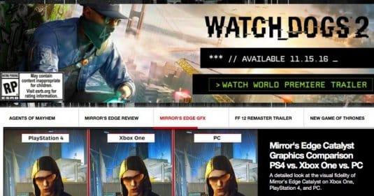 Рекламные материалы, которые опубликовал IGN