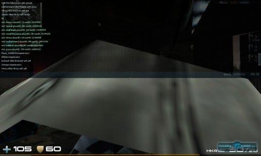 Окно игры с результатом работы программы list