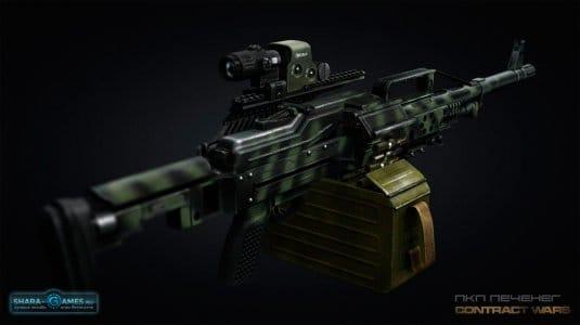 Уникальный пулемет Печенег