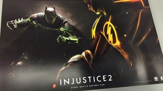 Рекламный постер Injustice 2