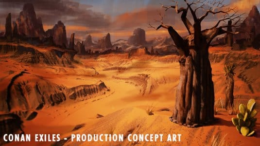 Conan Exiles концепт-арты №3