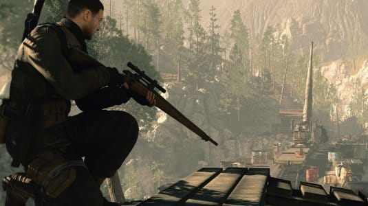 Sniper Elite 4. Скриншот №1