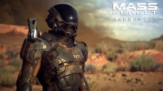 Mass Effect: Andromeda новые скриншоты с E3. #1