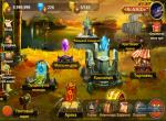 Главное меню игры Heroes Charge