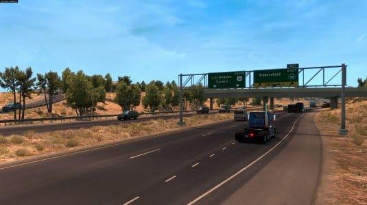 Пересечение дорог U.S. Route 101 i State Route 58