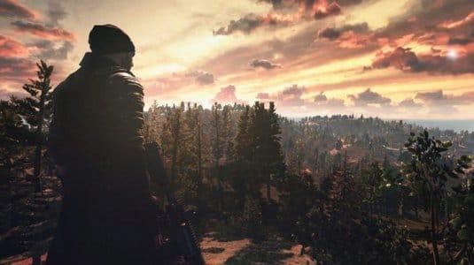 Первый скриншот игры Battlegrounds