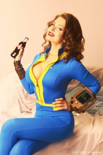 Галина Жуковская: фотосессия в стиле пин-ап, косплей на Fallout 4 №7