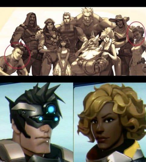 Возможно будущие герои Overwatch