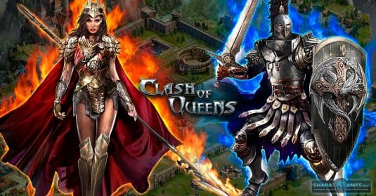 Арт по игре Clash of Queens