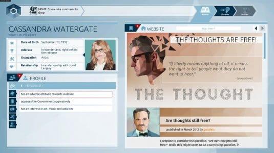 Оруэлл скриншот 5