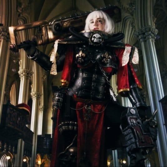 Женский косплей на Warhammer 40000 от LolliLane CosNerd №5