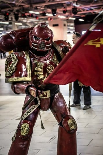 Ленин жив! — косплей на Warhammer 40000 №1