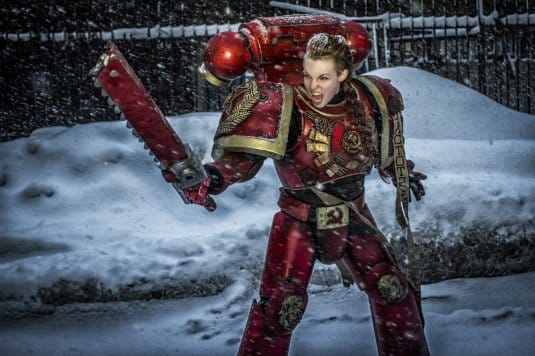 Ленин жив! — косплей на Warhammer 40000 №4