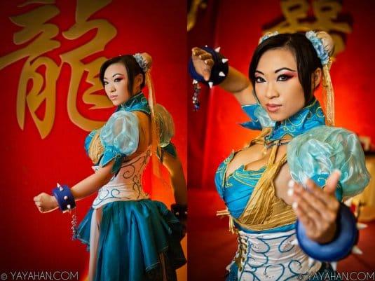 Yaya Han — косплей на Чун-Ли (Streetfighter) №8