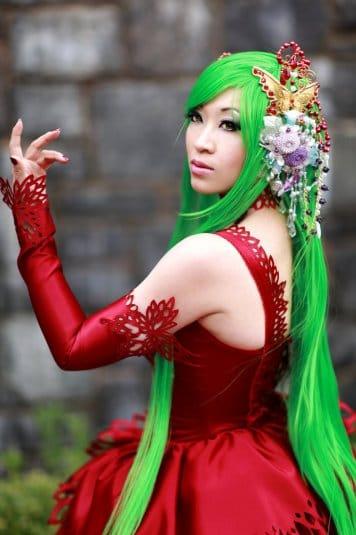 Yaya Han — косплей на C.C. (Code Geass) №2