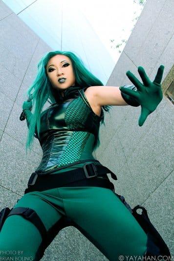 Yaya Han — косплей на Мадам Гидра (вселенная Marvel) №2