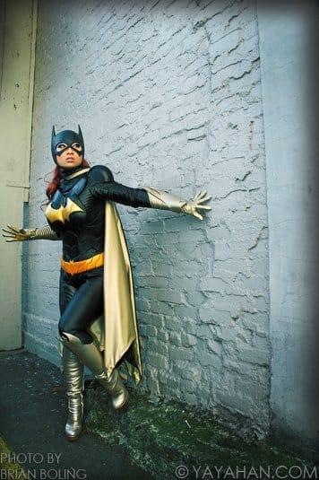Yaya Han — женский косплей на Бетмена №1