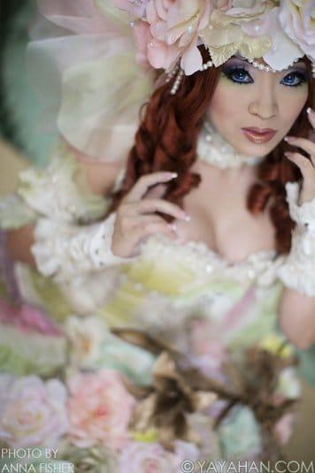 Yaya Han � ������� �� Sakizou White Rose �1
