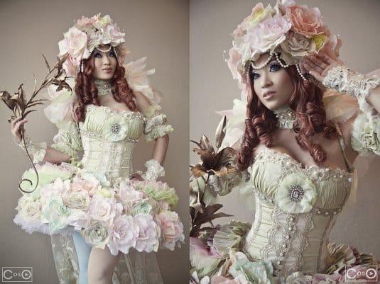 Yaya Han � ������� �� Sakizou White Rose �3