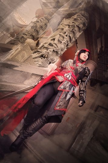 Yaya Han — женский косплей на Assassin's Creed №1