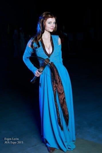 Ксения Шелковская — косплей на Маргери Тирелл #6