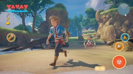 Новые скриншоты Oceanhorn 2 #1