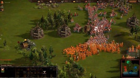 Армия драгунов под прикрытием копейщиков