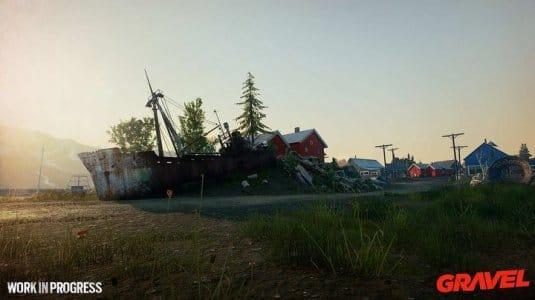 Скриншоты Gravel 4