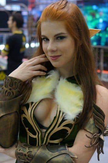 Анастасия Зеленова на ИгроМире 2016 №10