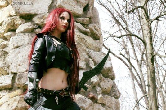 Косплей Анастасии Зеленовой: Katarina #6