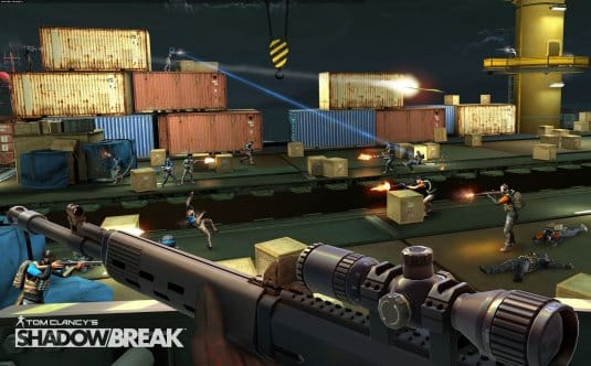 Скриншоты Tom Clancy's ShadowBreak #1