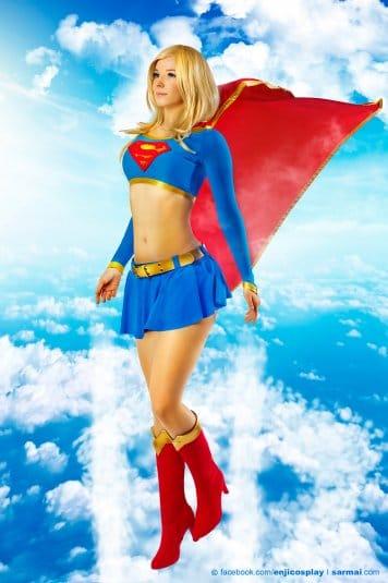 Обои: косплеи Enji Night № 7. Supergirl