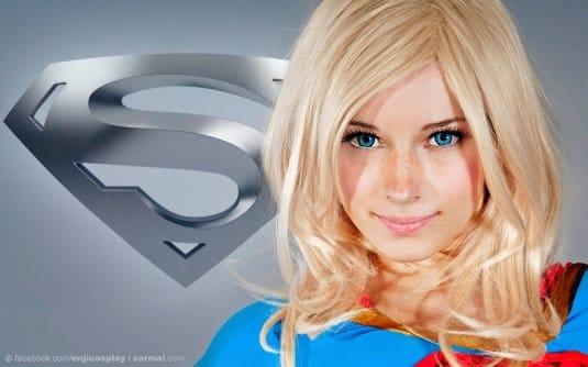 Обои: косплеи Enji Night № 9. Supergirl