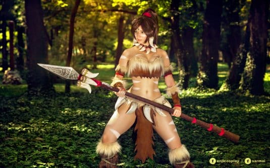 Обои: косплеи Enji Night № 11. Nidalee. League of Legends II