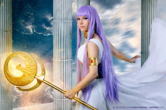 Обои: косплеи Enji Night № 16. Athena