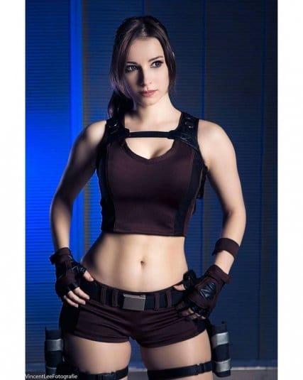 Обои: косплеи Enji Night № 19. Lara Croft