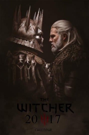 Witcher 3: Wild Hunt — Косплей календарь 2017 №2