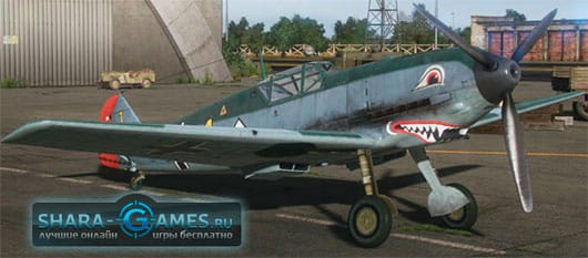 Добрая акула для Messerschmitt Bf.109E