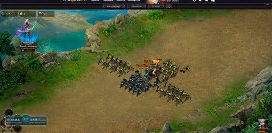 На начальных этапах игры орков можно побеждать только одной пехотой