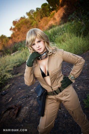 Косплей Maridah на EVA из Metal Gear Solid 3. Фото № 21